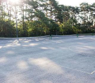 Netball tennis courts 3