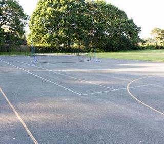Netball tennis courts 4