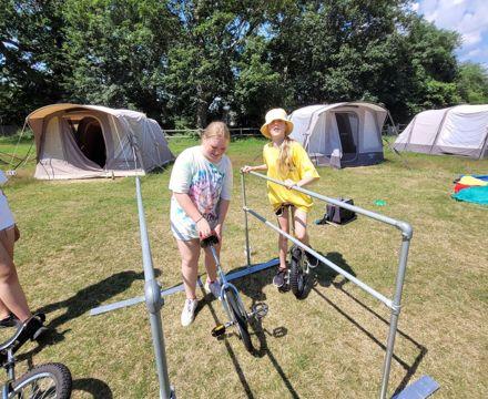 Tile Barn Unicycle